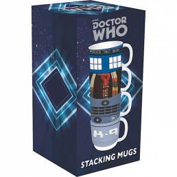 Tasses Empilables Dr Who