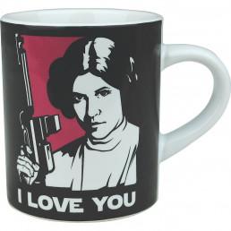 Tasses à Expresso Star Wars - Han Solo et Leia