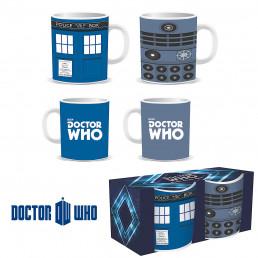 Tasses à Expresso Dr Who - Tardis et Dalek