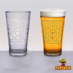 Verre PacMan Thermoréactif