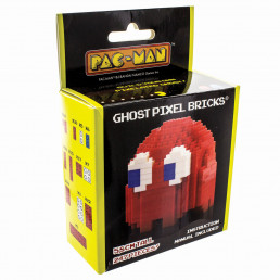 Briques Pixel Blinky - Fantôme PacMan