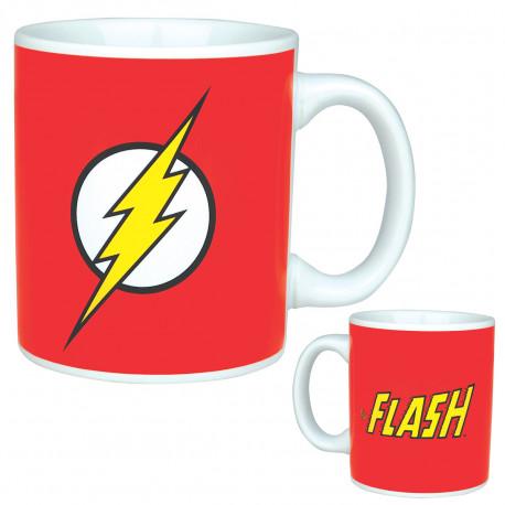 Vous êtes un fan des héros de la Ligue des Justiciers et vous avez un petit faible pour Flash et sa rapidité à se déplacer tel l'éclair ? Alors ce mug geek à son honneur vous mettra de bonne humeur dès le petit matin !