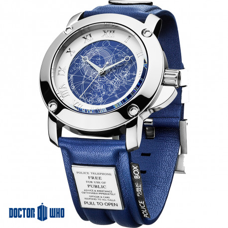 Cette montre haut de gamme est le cadeau ultime pour tous les fans geeks de la série britannique Doctor Who
