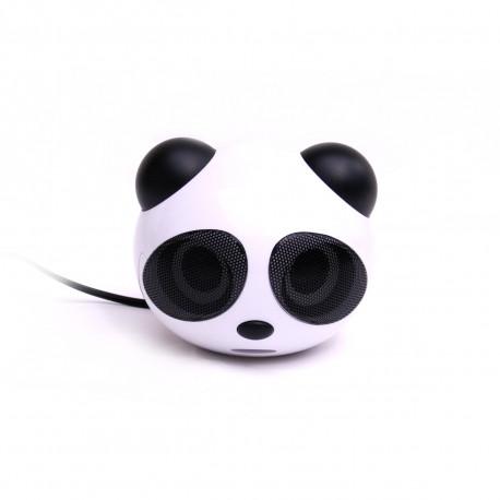 Si vous appréciez la musique et les animaux trop craquants, vous tomberez sous le charme de ces enceintes usb en forme de panda ! Les haut-parleurs Usb panda : l'alliance du son, de la geek-attitude et d'un look mignon pour un cadeau bureau indispensable !