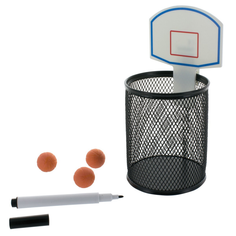 kit de bureau basketball achat cadeau original sur rapid cadeau. Black Bedroom Furniture Sets. Home Design Ideas