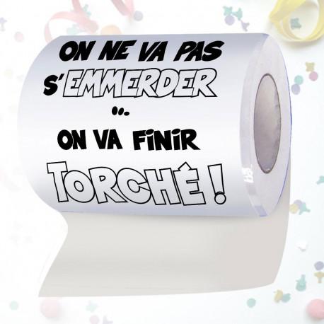 Papier Toilette Finir Torché