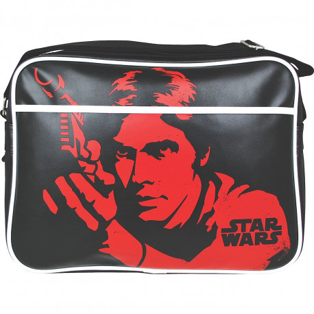 Sacoche à bandoulière sur le personnage Han Solo dans Star Wars