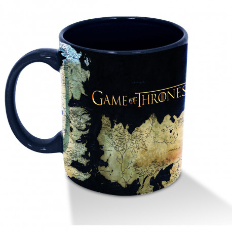 Game of Thrones est à l'honneur avec ce mug à l'effigie du monde de Westeros