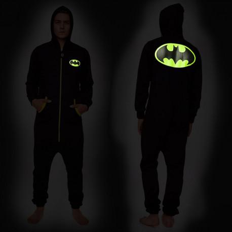 Une combinaison phosphorescente batman