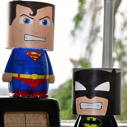 Lampe Look Alite Superman