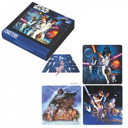 Pack de 4 Sous-Verres Star Wars en Liège