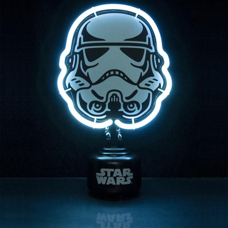 luminaire design lampe n on star wars stormtrooper sur rapid cadeau. Black Bedroom Furniture Sets. Home Design Ideas