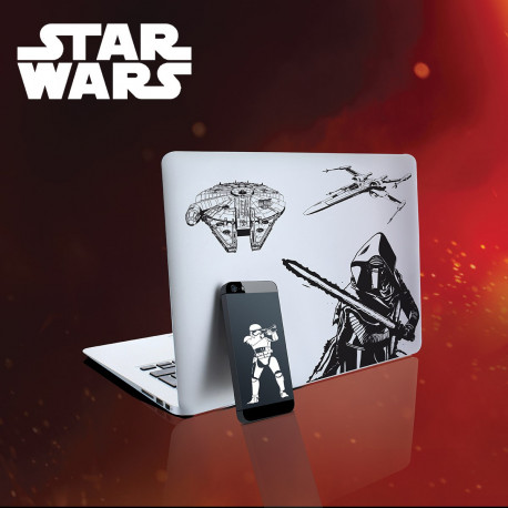 Lot de 15 Stickers Star Wars épisode 7
