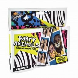 Pack de 20 Sous-Verres Animaux Funs