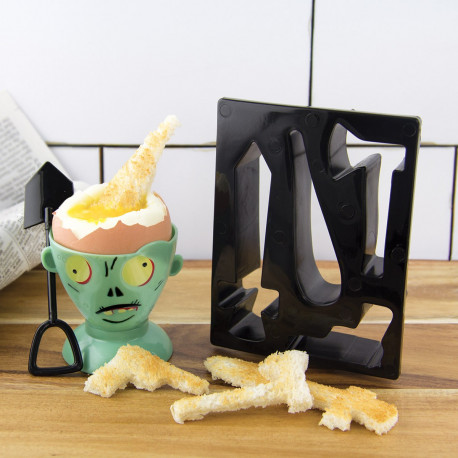 Ces accessoires pour oeufs à la coque vous permettront de compléter votre collection de cadeaux façon zombie