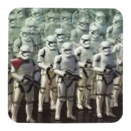 Lot de 8 Sous-Verres Animés Star Wars Ep 7