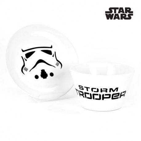 Set Bol et Assiette Stormtrooper Star Wars