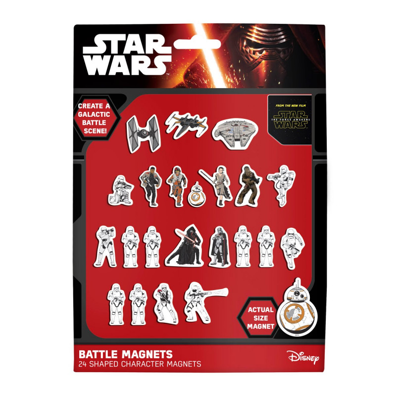 magnet frigo l 39 effigie des personnages de star wars 7. Black Bedroom Furniture Sets. Home Design Ideas