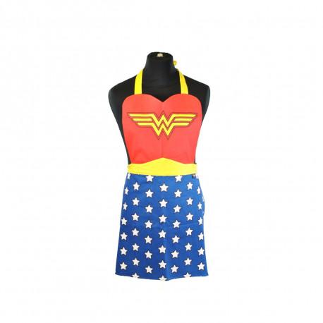 ce tablier de cuisine original à l'effigie de Wonder Woman pour inventer LE modèle que toutes les girls voudront revêtir pour cuisiner