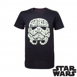 T-Shirt Stormtrooper Phosphorescent Star Wars