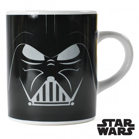 tasse originale pour expresso star wars l 39 effigie du casque de dark vador sur rapid cadeau. Black Bedroom Furniture Sets. Home Design Ideas