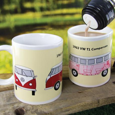 Ce mug chaud/froid Volkswagen fera l'unanimité auprès des inconditionnels du Combi Van