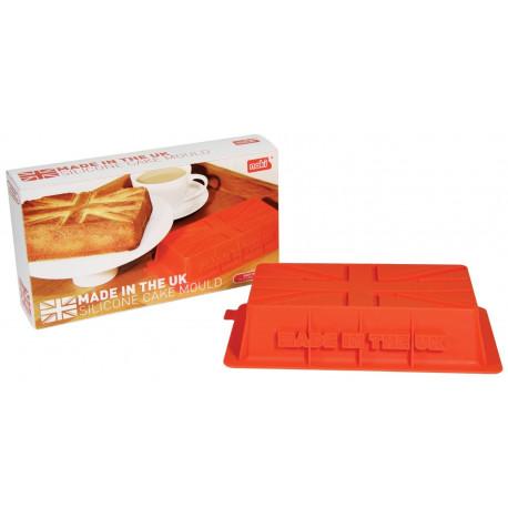 moule à cake en forme de drapeau anglais en silicone