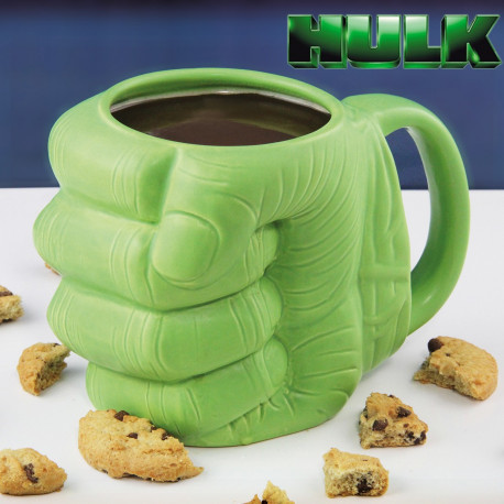 Mug Hulk Poing 3D Marvel