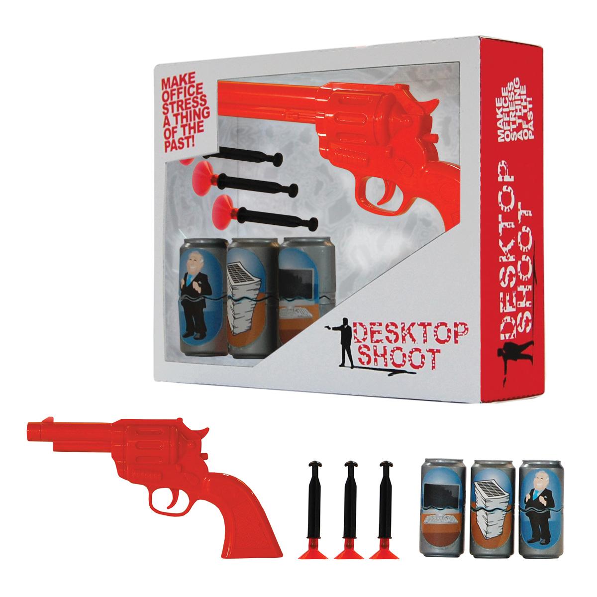 Le tir au pistolet un jeu de bureau qui met de l 39 ambiance au travail r - Jeu de travail au bureau ...