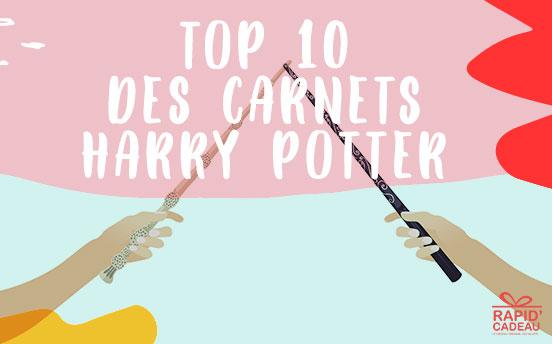Top 10 carnets Harry Potter