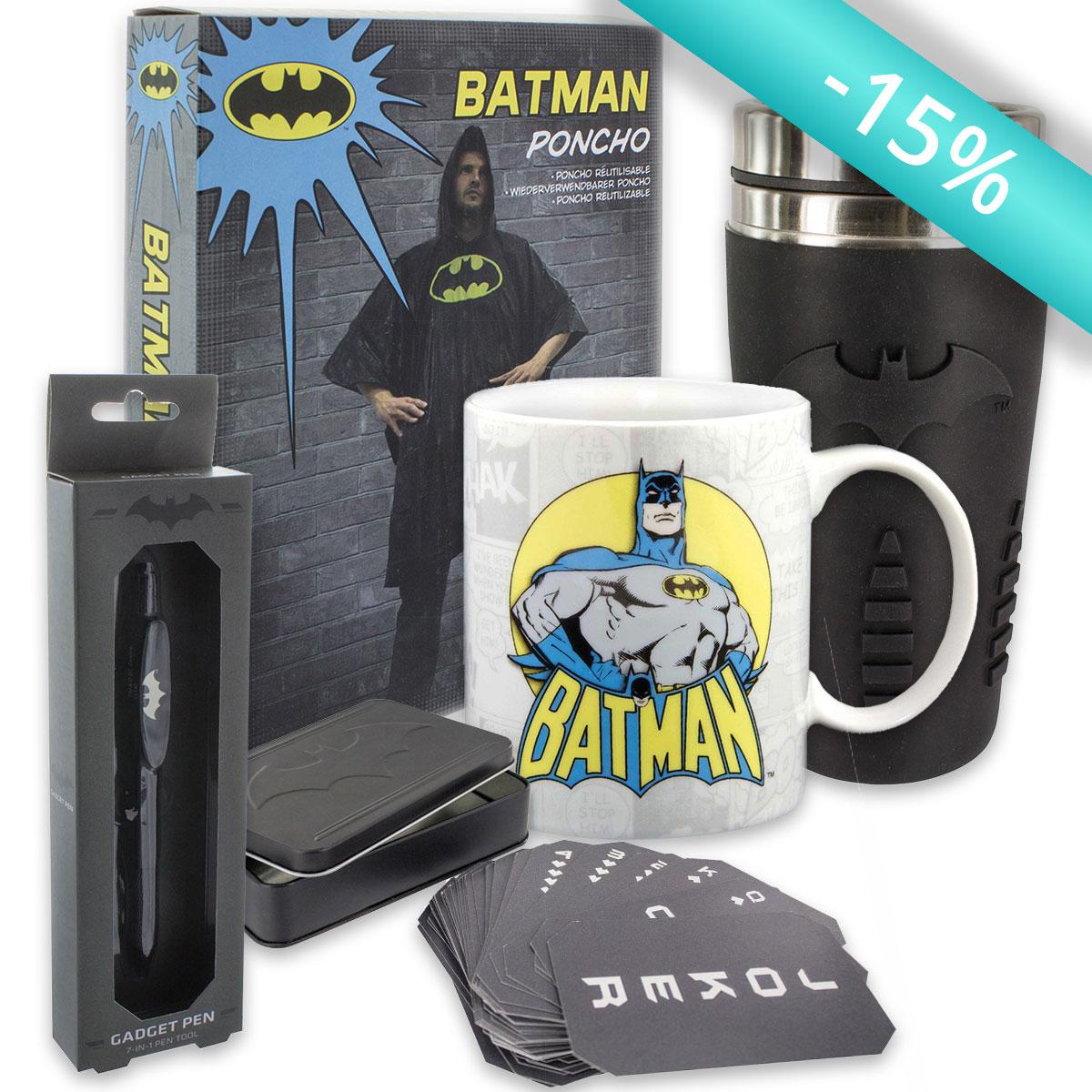 Pack'Cadeaux Batman