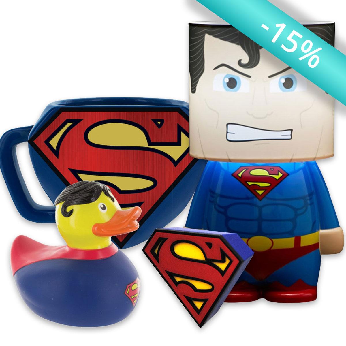 Pack'Cadeaux Superman