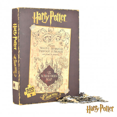 Puzzle Harry Potter Carte du MAraudeur
