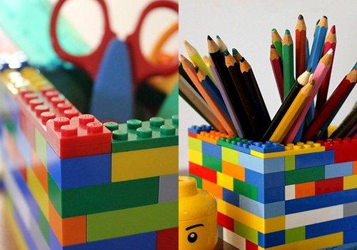 Créer des pots en briques Lego