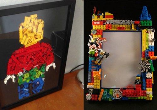 Un cadre photo Lego