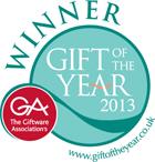 La lampe gagne le prix de cadeau de l'année 2013