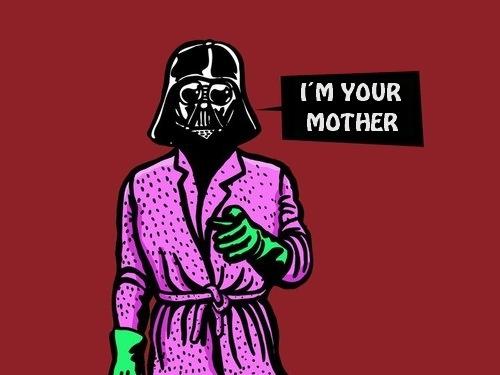 Cadeaux Star Wars Maman