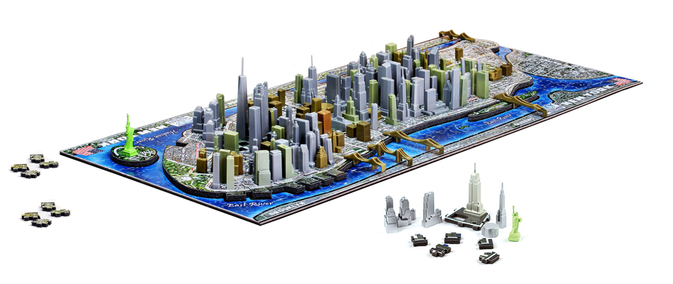 Puzzle 4d new york 840 pi ces achat puzzle historique for Piscine ludique paris