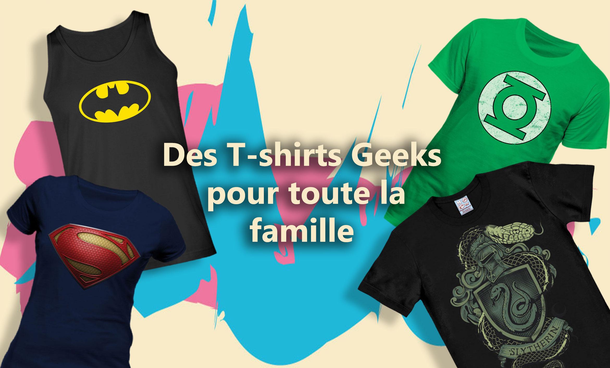 T-shirt pour toute la famille