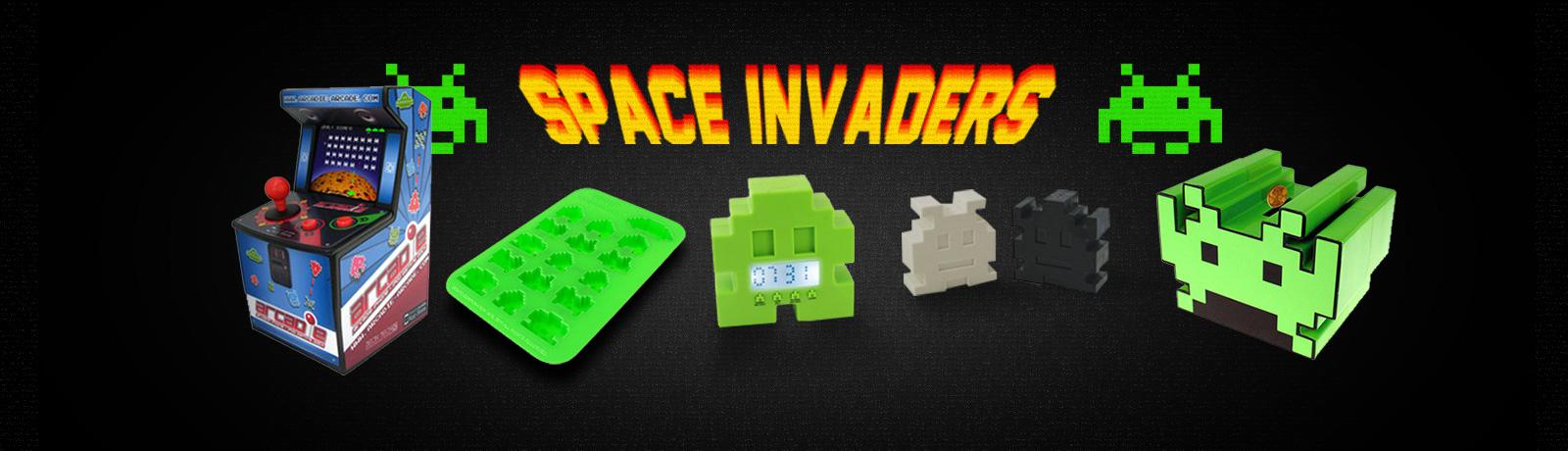 Les idées cadeaux Space Invaders sont Geek et Fun.