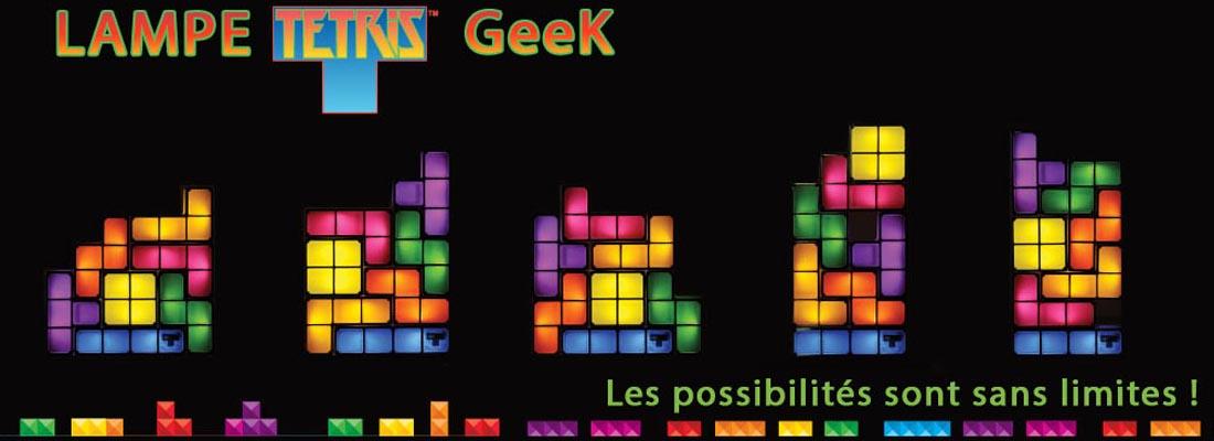 Lampe Tetris Geek